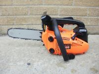"""Brand New 26cc Top-Handle chainsaws with 10"""" bar. Plus safety wear"""