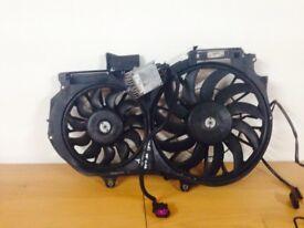 Audi a4 b6 2.4 v6 radiator fans