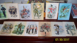 Soldiers Of The Crown Post cards