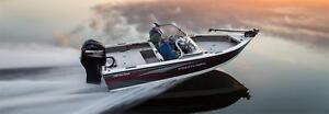 Crestliner 1750 Fish Hawk WT, 115HP Merc Outboard & Trailer