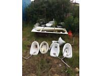 Toilets etc