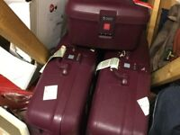 Delsey suitcase set