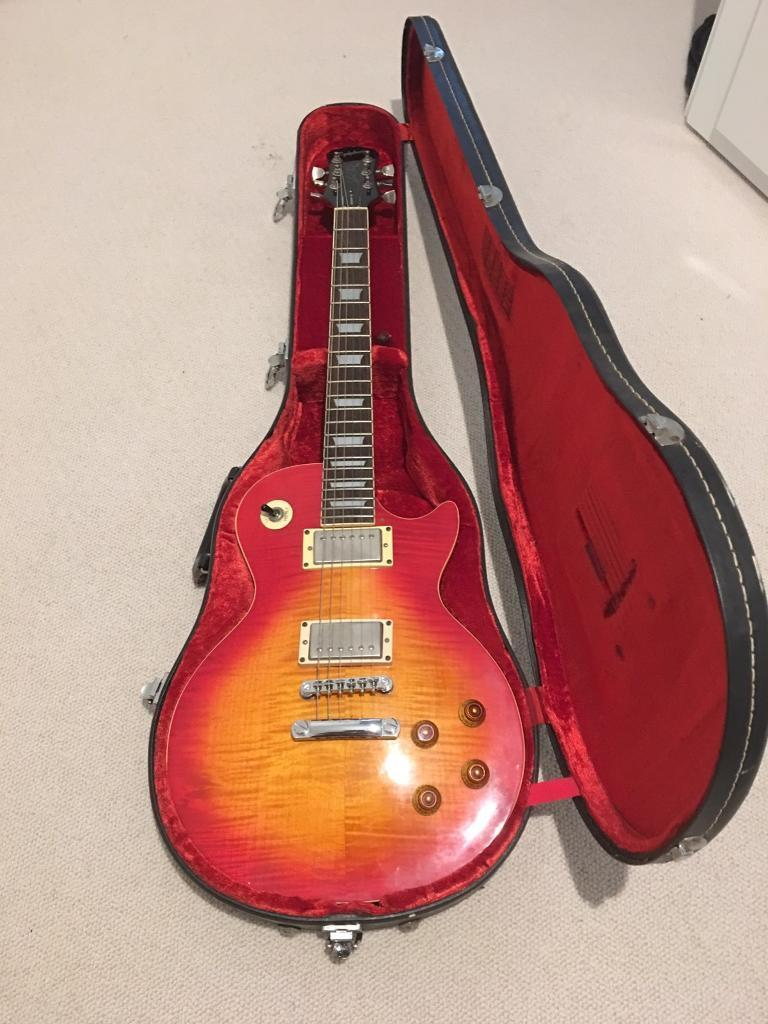 Reduced Gibson Epiphone Electric Guitar Customised Les Paul Model