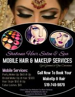 MOBILE MAKE UP AND HAIR SERVICES
