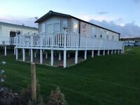 Static Caravan for sale - Craig Tara, Dunure, Ayrshire.Swift Bordeaux exclusive 2014