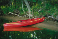 Two Red Kayaks