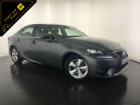 2014 LEXUS IS300H SE AUTOMATIC HYBRID 1 OWNER SERVICE HISTORY FINANCE PX WELCOME
