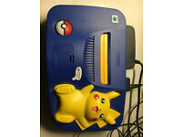 Special Edition Pokemon Pikachu N64 Console with Pokemon Controller and games. Poke fans (£120)