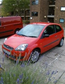 FORD FIESTA 1.25 STYLE 2007 BRIGHT RED 3 DOOR HATCHBACK LONF MOT VERY NICE CAR NO FAULTS. £1250