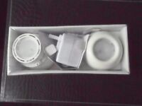 IKEA 'NON' 10W 12V 17796 Lights Cabinets Bookcase Kitchen BNIB - White Pair