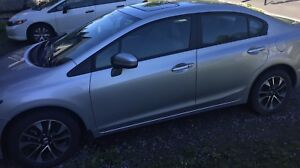 Honda Civic 2015 lease take over $275 under 15000KM