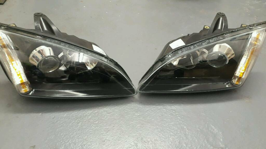 Ford Focus Mk Black Xenon Headlights In Leicestershire Gumtree