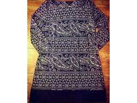 Ladies Patterned Top - Size 16