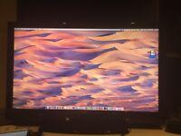 40 inch BUSH TV - In perfect condition, comes with HDMI ports and a remote control