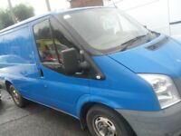FORD TRANSIT VAN T280 FULL TEST 07 REG 1 COMPANY OWNER BIRTLEY CAR SALES DH3 1PR