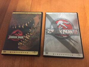 Jurassic Park 1 and 2