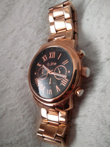 Brand new Rose gold Men's a_line Watch