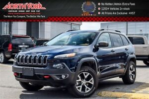 2016 Jeep Cherokee Trailhawk 4x4|SafetyTec,Cold Wthr,Tech.,Comfo