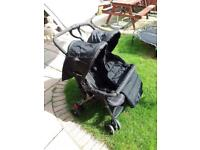 Double pushchair/buggy