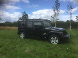 Jeep Wrangler 2.8 CRD Sahara 4x4 5dr - Low Mileage 1 Owner