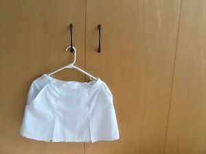 ADIDAS WHITE TENNIS SKIRT