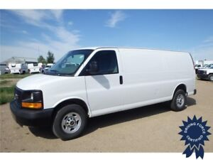 2016 GMC Savana Extended Cargo Van Rear Wheel Drive, 2,310 KMs