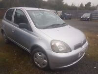 TOYOTA YARIS LOW MILEAGE 67K ( ANY OLD CAR PX WELCOME )