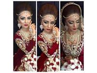 Asian bridal party hair and makeup artist. Experienced Bridal make up and hair available. PROMS