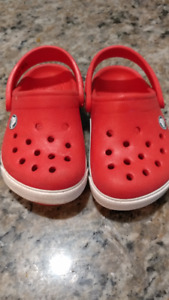 CROCS Orange Size 4/5 for Toddlers