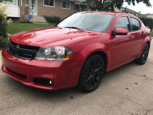 2014 Dodge Avenger Sxt Black Top Edition Sedan