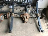 Ford transit mk7 2.4 rwd twin wheel rear axle
