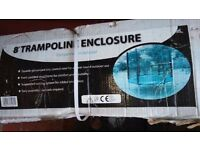 8' Trampoline enclosure (new and in original box)