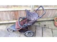 MOTHERCARE URBAN DETOUR - ALL TERRAIN - JOGGER TYPE PUSHCHAIR - Collect Only