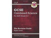 GCSE AQA trilogy 1-9 combined science