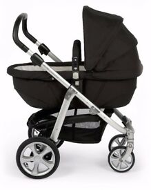 Mamas & Papas Pushchair Ziko Herbie Travel System with a car seat