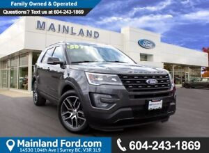 2017 Ford Explorer Sport LOACL, NO ACCIDENTS