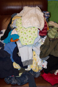 Bulk Baby Boys Clothes for sale, sizes newborn to 3T