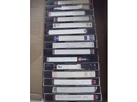 VERY SMALL JOB LOT SELF RECORDED VHS ROCK/INDIE MUSIC TAPES-CLOSE OFFERS CONSIDERED