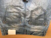 Crosshatch size 34 light coloured jeans