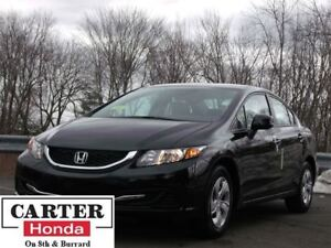 2014 Honda Civic LX + LOW KMS + ACCIDENT FREE + CERTIFIED!