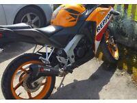 Honda CBR125 Repsol Orange