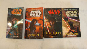 $30 for 18 Star Wars books!