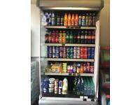 Commercial drink fridge