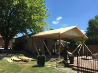 Covered Porches, Decks, Fences and Rough Framing 2018 Bookings