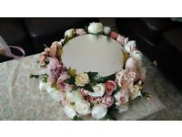 wedding cake flower base