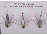 6 Ounce DCA Breakaway Fishing Weights (Sinkers)