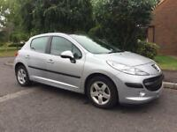 PEUGEOT 207 1.4 SE MET SILVER MANUAL, HPI CLEAR, FULL SERVICE HISTORY, PX WELCOME