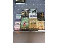 A selection of thrillers