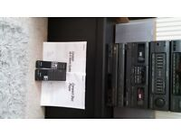 SONY Record Deck, Amp, Cassette, Tuner and 5 CD Changer System, immaculate