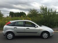 Ford Focus 1.8 Zetec petrol x reg 5 door 12 months mot clutch slips hence spares or repairs 38+ mpg